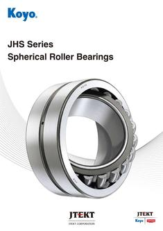 Jhs series spherical roller bearings 2016