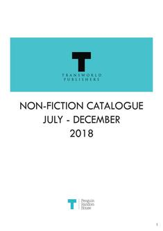 Transworld Non-Fiction Jul-Dec 2018