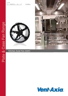 Kitchen Axial Fan 2016 (KAF)