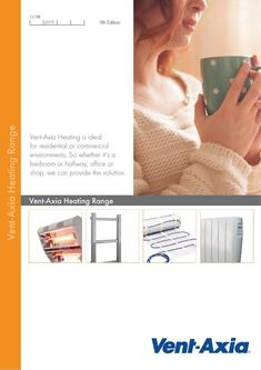 Vent-Axia Heating Brochure 2016