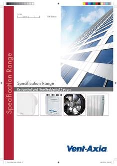 Specification Brochure 2016