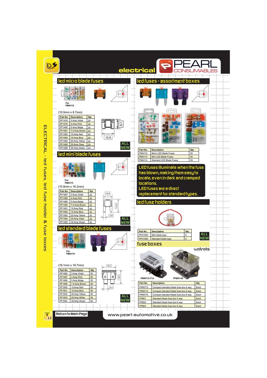 Page 50 Of 2013 Workshop Consumables Fuse Box Ads P 152