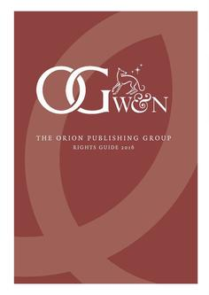 Orion Publishing Group Rights Guide 2016 Frontlist