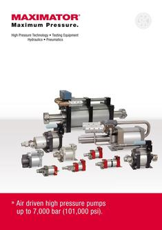 High Pressure Pumps 2014