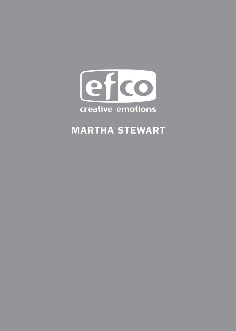 Martha Stewart 2016 by EFCO Creative