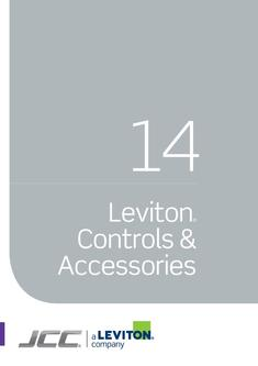 Leviton Controls Accessories 2017
