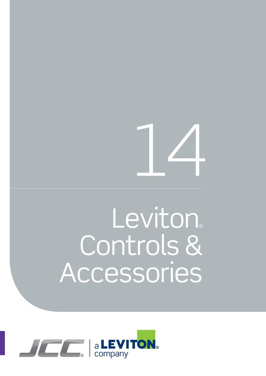 Leviton® Controls & Accessories 2016 by JCC Lighting