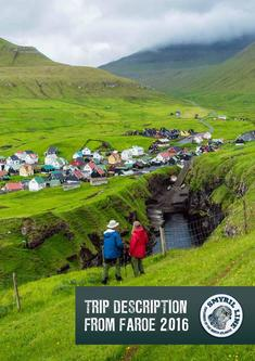 Travelogue from the Faroe Islands 2016
