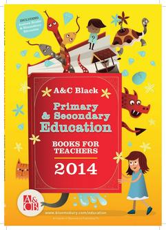 A&C Black Primary & Secondary Education Books for Teachers 2014