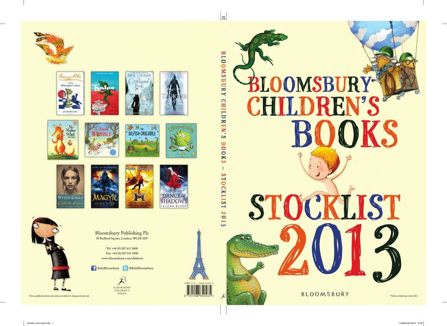 Childrens Stocklist 2013 Part 1 Books For 0 7 By Bloomsbury