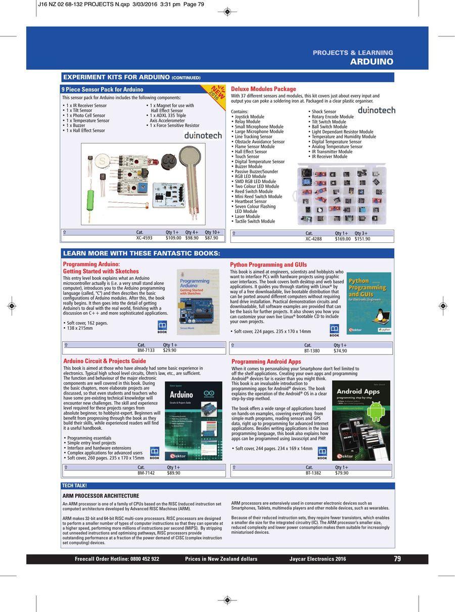 Page 79 of 2016 Jaycar Catalogue