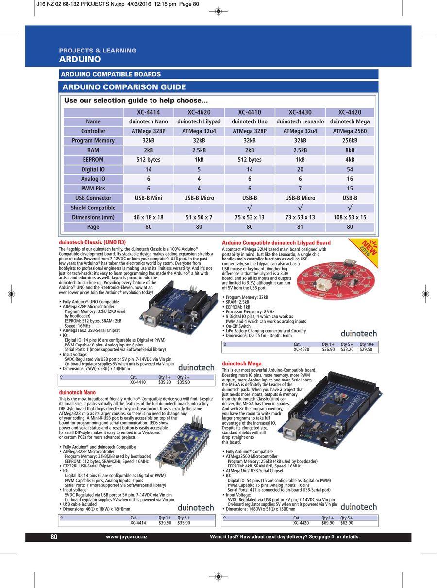 Page 82 of 2016 Jaycar Catalogue