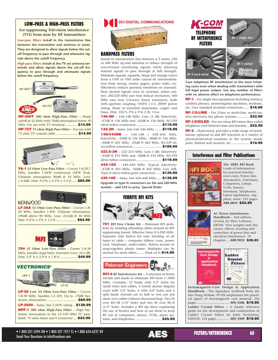 Page 41 of AES Ham Radio Catalog