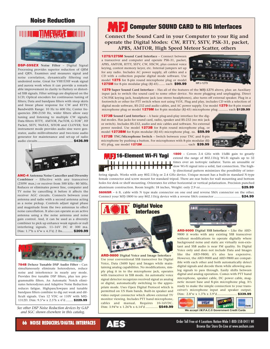 Page 43 of AES Ham Radio Catalog