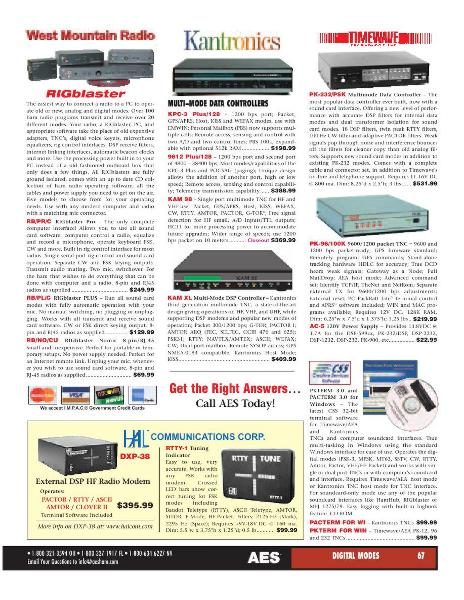 normal aes catalog 0043 Page 43 of AES Ham Radio Catalog by AES Amateur Electronic Supply