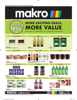 More4Less Catalogue October 2018