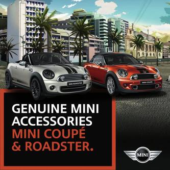 Mini Coupe & Roadster Accessories 2016
