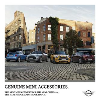 Mini 3-Door & Mini 5-Door Hatch Accessories 2016