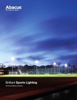 Sports lighting 2016