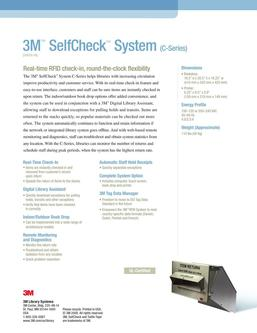 3M™ SelfCheck™ System (C-Series) 2016
