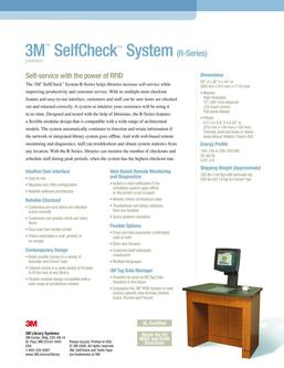 SelfCheck™ System (R-Series) 2016
