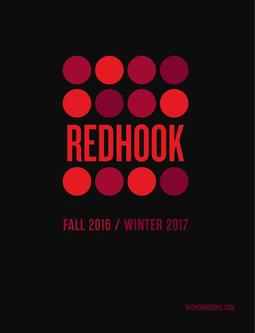 Redhook Books Fall 2016/Winter 2017