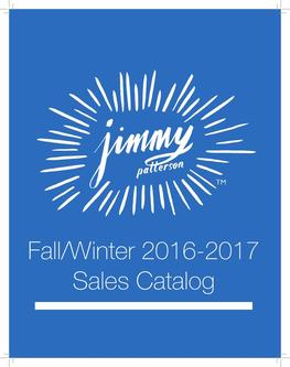 Jimmy Books Fall/Winter 2016/2017