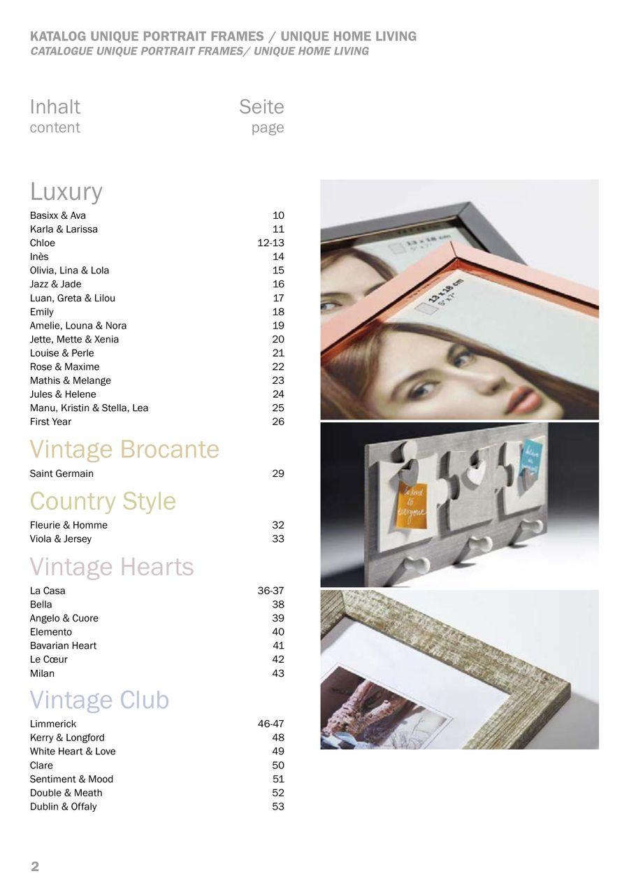 Home Galerierahmen 3x 15x20 grau