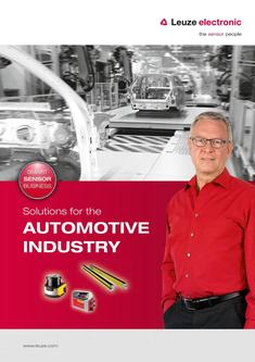 Automotive industry sensors 2016