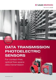Data transmission photoelectric sensos 2016