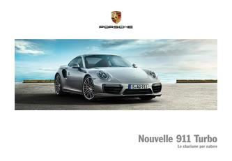 Nouvelle 911 Turbo 2016 (French)