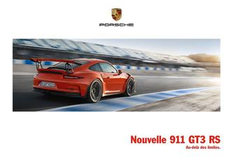 Nouvelle 911 GT3 RS 2016 (French)