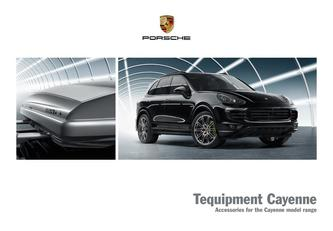 Tequipment Cayenne 2016 (French)