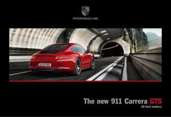 The new 911 Carrera GTS 2016