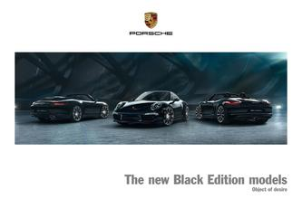 The new Black Edition models 2016