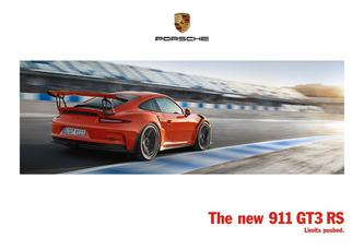 The new 911 GT3 RS 2016
