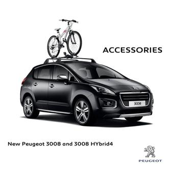 Peugeot 3008 and 3008 HYbrid4 Accessories 2016