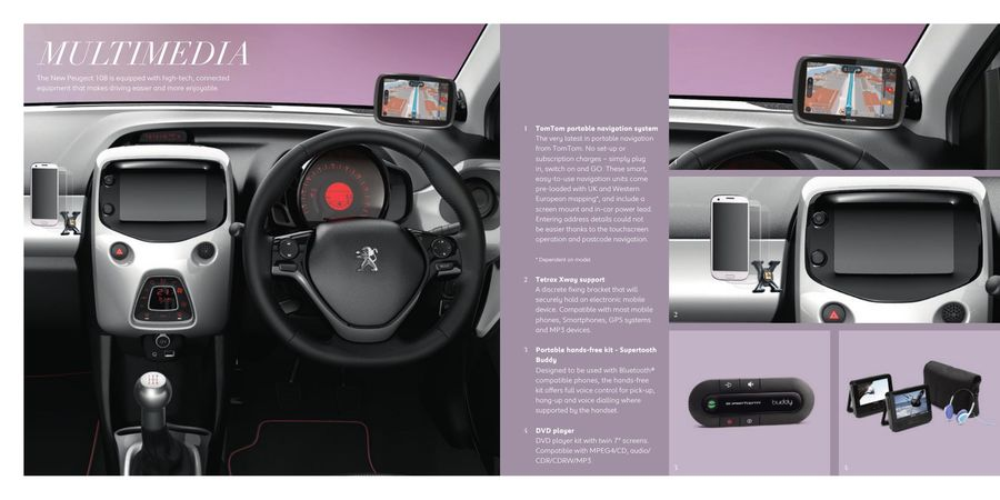 page 15 of peugeot 108 accessories 2016
