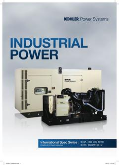 6 - 830kVA Product Catalog (International Spec Series) 2017