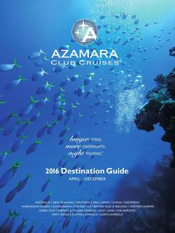 2016 Destination Guide