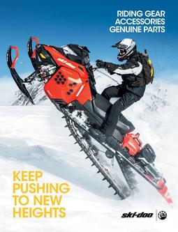 2016 Fall/Winter Ski-Doo Parts, Accessories & Riding Gear