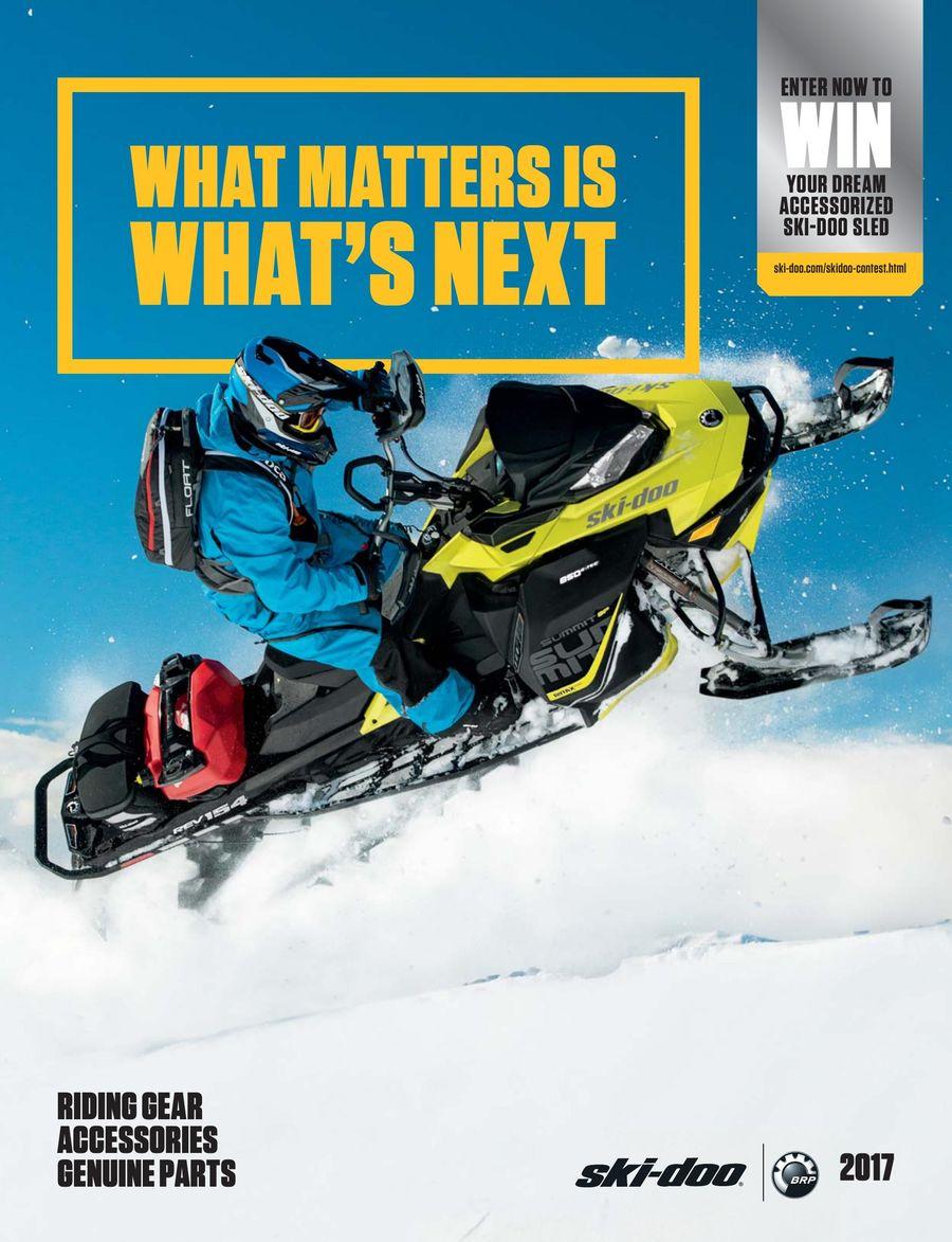 Ski Doo Parts >> 2017 Fall Winter Ski Doo Parts Accessories Riding Gear By Ski Doo