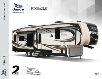 2017 Pinnacle Fifth Wheel