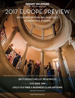 Insight Vacations 2017 Europe Preview