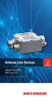 ANTENNA LINE DEVICES Solutions for GSM, UMTS and LTE Januar 2016