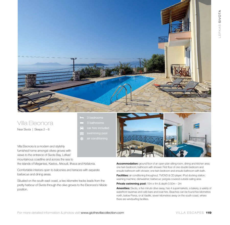 Page 14 of GIC The Villa Collection Lefkas 2017