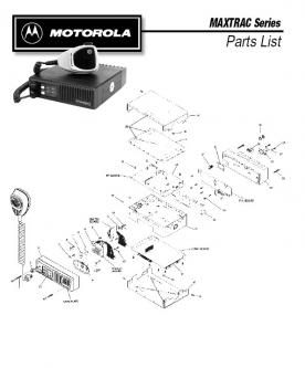 Maxtrac Series Parts List