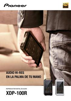 XDP-100R Digital Audio Player (Spanish)