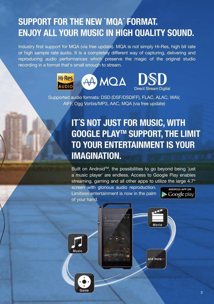 XDP-100R Digital Audio Player by Pioneer & Onkyo Europe