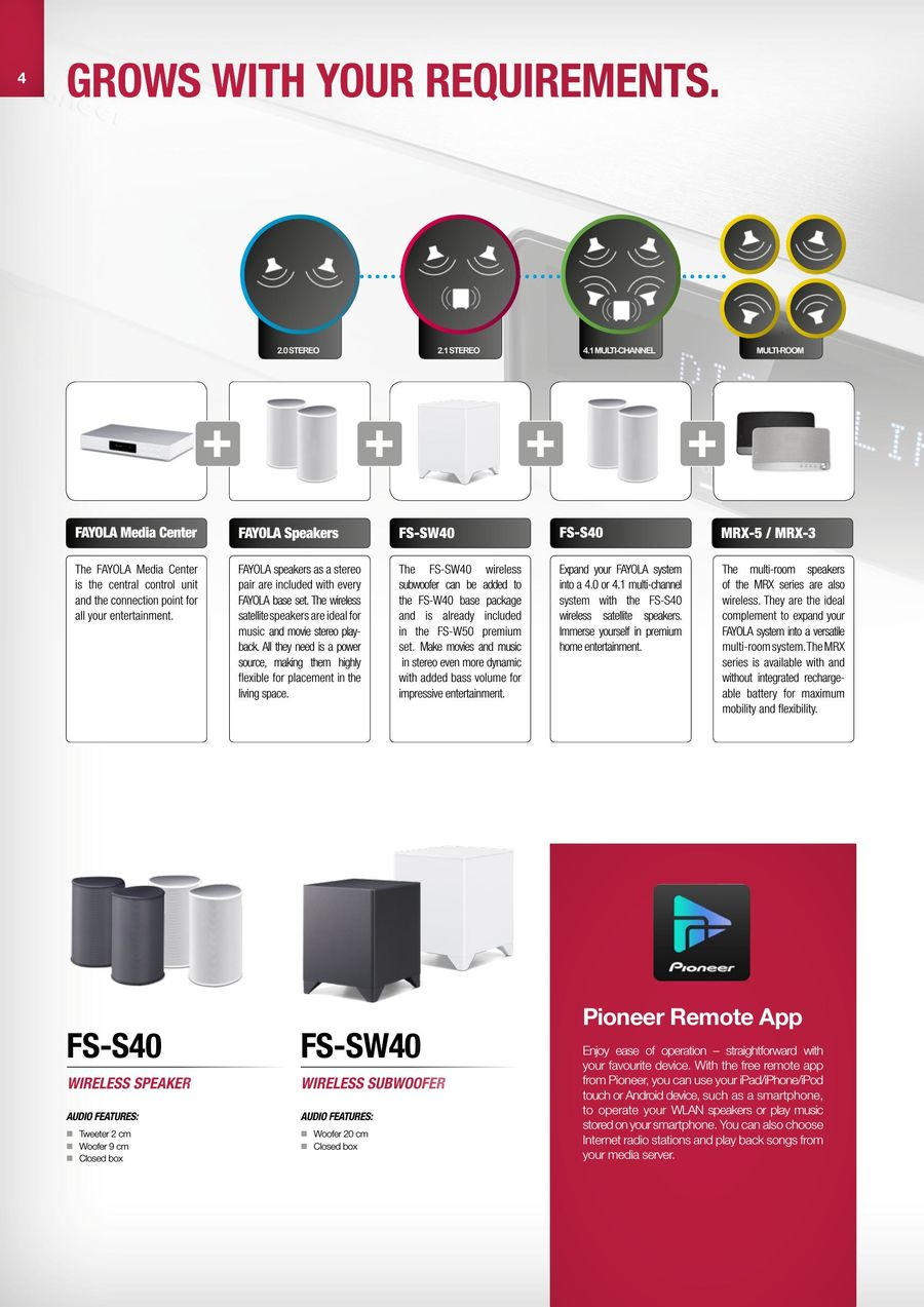 Home Entertainment & HiFi 2017/2018 by Pioneer & Onkyo Europe
